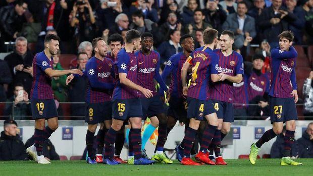 Barcelona merupakan salah satu favorit kuat juara Liga Champions.