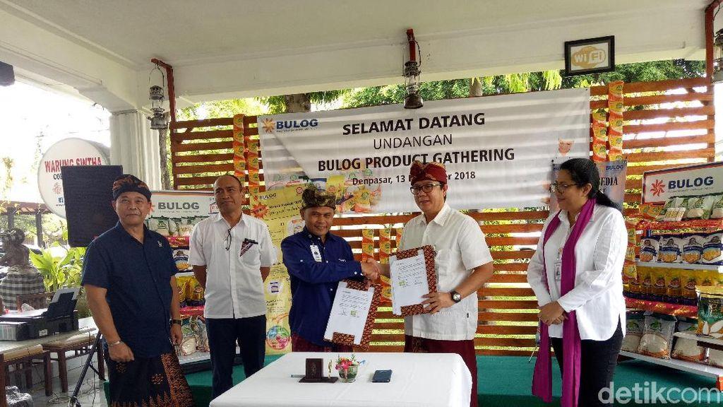Bali Jadi Proyek Perdana Rumah Pangan Bulog-Transmart