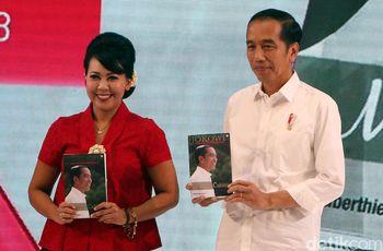 Jokowi Hadiri Peluncuran Buku 'Jokowi Menuju Cahaya'