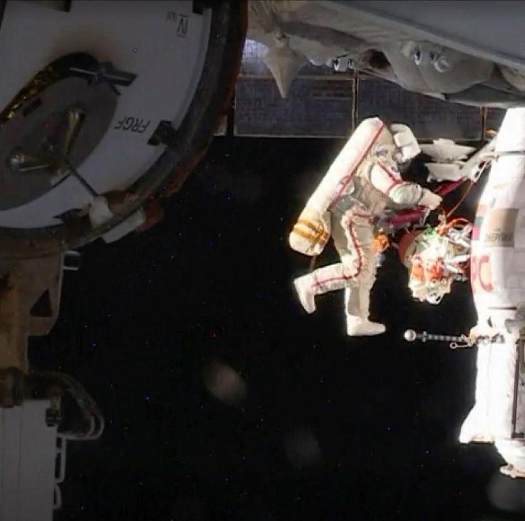 Rusia Selidiki Lubang Misterius di Stasiun Antariksa ISS