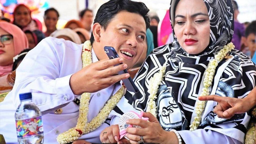 Suka Ngopi, Gaya Bupati Cianjur Irvan Rivano Sebelum Ditahan KPK