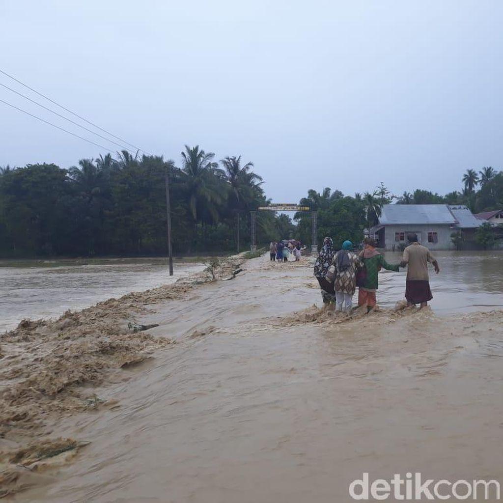 Banjir di Bireun Aceh, 1 Orang Dilaporkan Hanyut