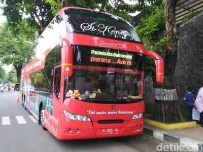 Antrenya Wisata Keliling Semarang Gratis di Akhir Tahun