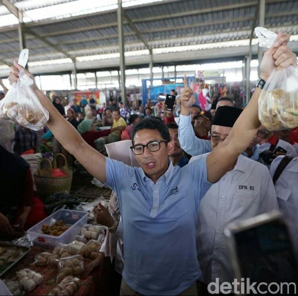 Belanja Pare, Gula Jawa dan Tahu, Sandi Juga Dapat Kopiah di Kebumen
