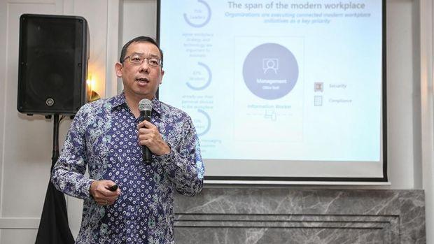 Wahjudi Purnama, Modern Workplace Business Group Lead Microsoft Indonesia.