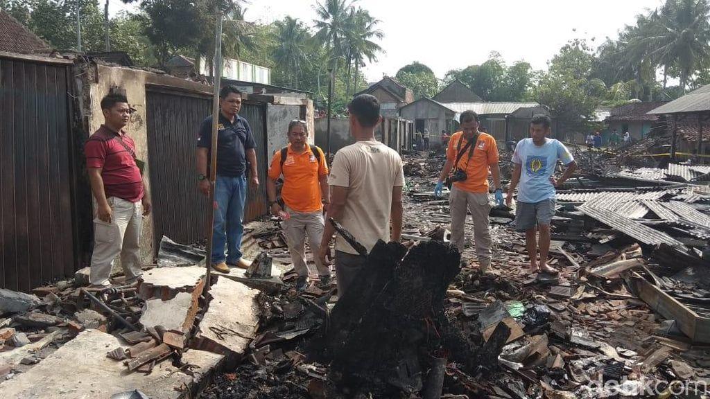 Kebakaran Pasar Kalimaling Semarang, Puluhan Kios dan Lapak Ludes
