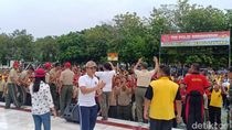 TNI dan Polisi di Madiun Olahraga Bersama Cegah Insiden Ciracas
