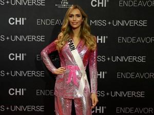 10 Aksi Angela Ponce, Transgender yang Dijagokan Menang Miss Universe 2018