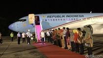 Jokowi Tiba di Riau, Siap Terima Gelar Adat Melayu