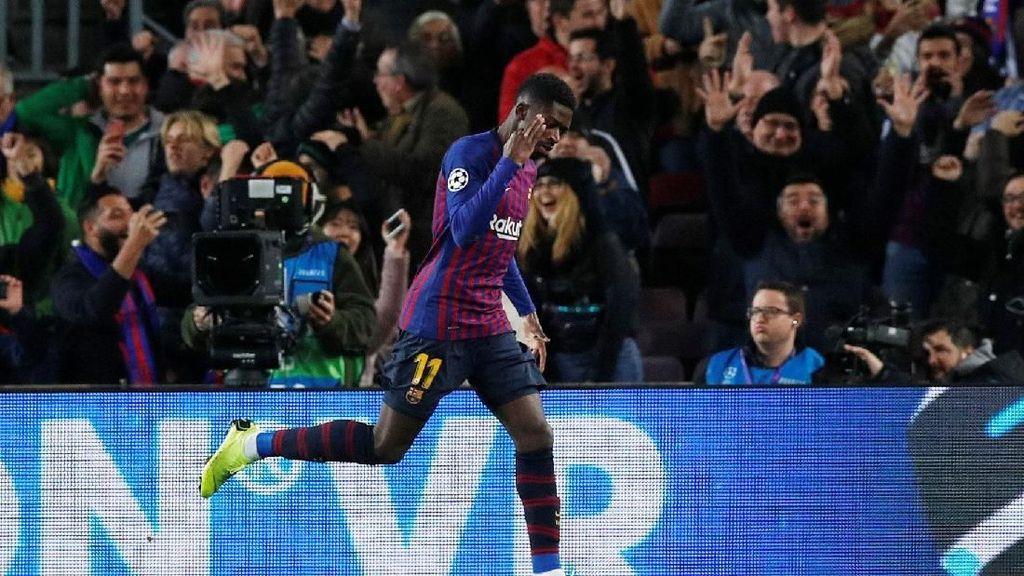 Presiden Barcelona Suka Dembele, Diyakini Lebih Baik dari Neymar