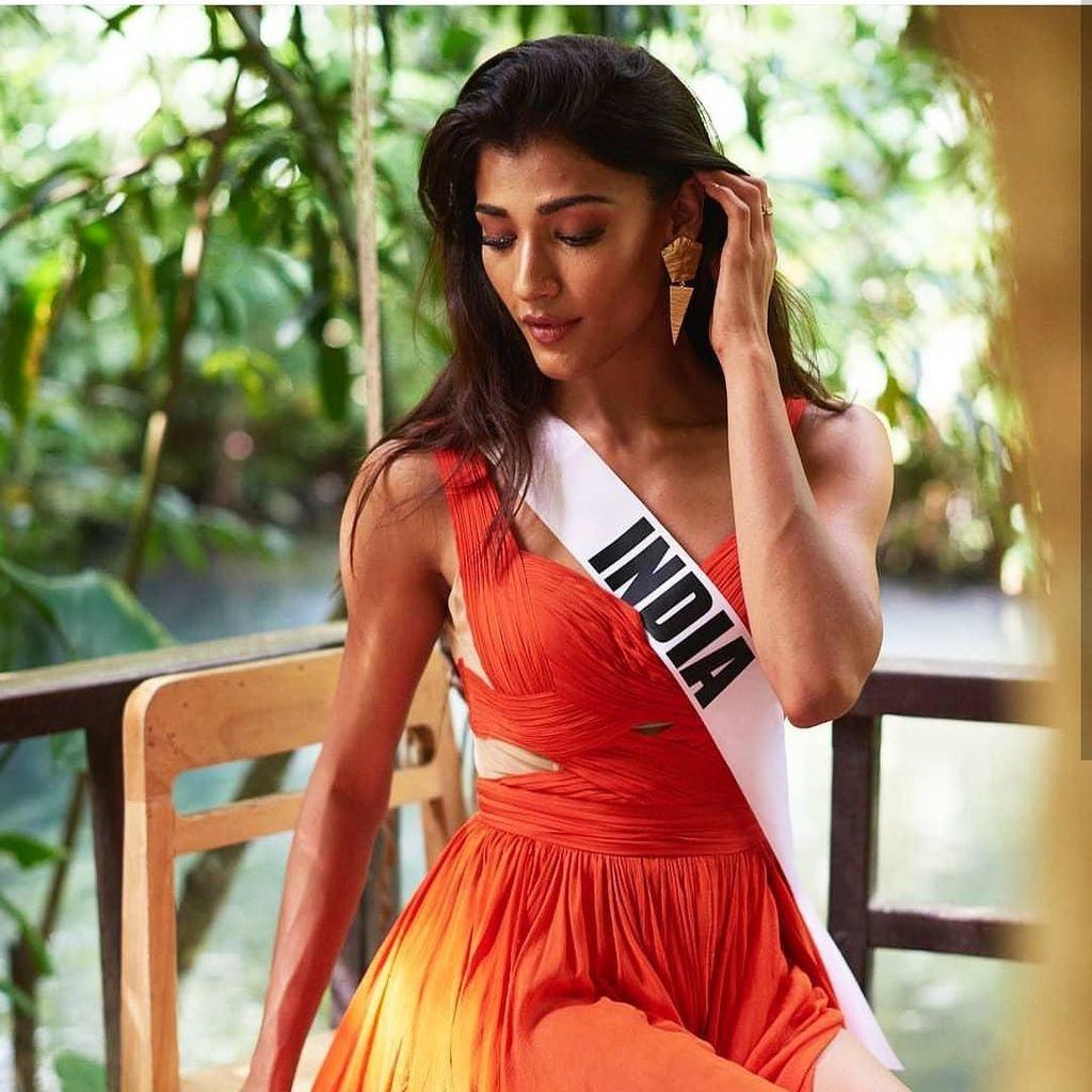 Potret Finalis India yang Malfungsi Busana di Penjurian Miss Universe