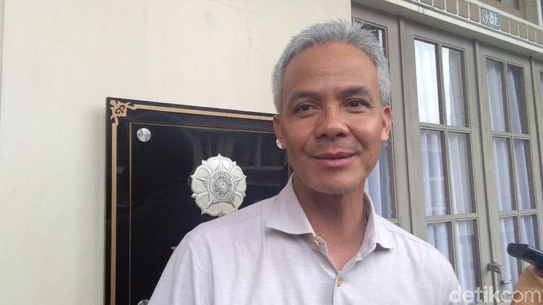 Ilustrasi ketua kagama Ganjar Pranowo. (Foto: Usman Hadi/detikcom)