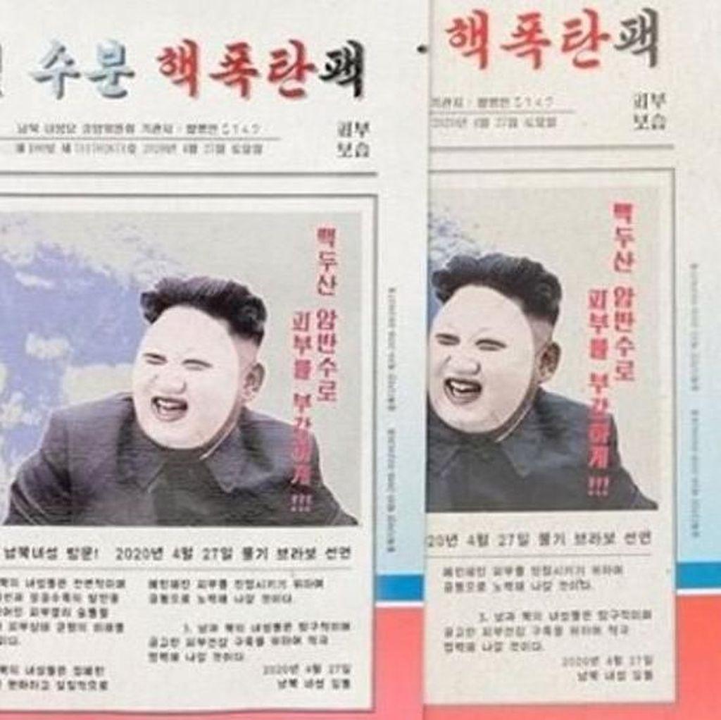 Masker Wajah Kim Jong Un Picu Kontroversi di Korea Selatan