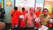 Bareskrim Polri Gagalkan Penyelundupan 22 Kg Sabu dari Malaysia