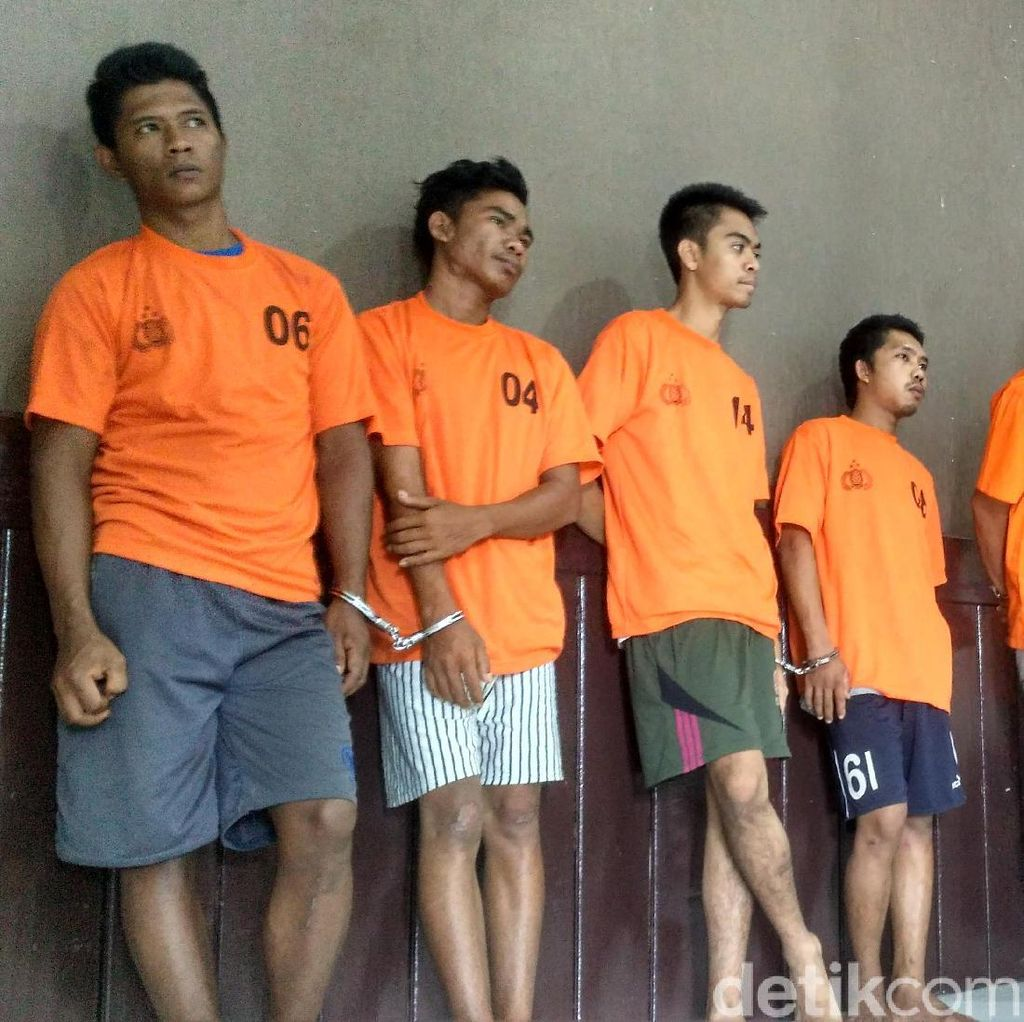 Jelang Natal, 12 Penjahat Jalanan Ditangkap di Pangkalpinang