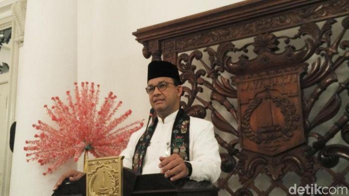 Gubernur DKI Jakarta Anies Baswedan/Foto: Muhammad Fida ul Haq/detikcom