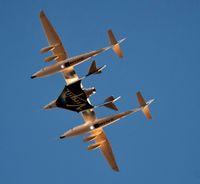 Pesawat Supersonik Virgin Galactic Capai Tepi Angkasa