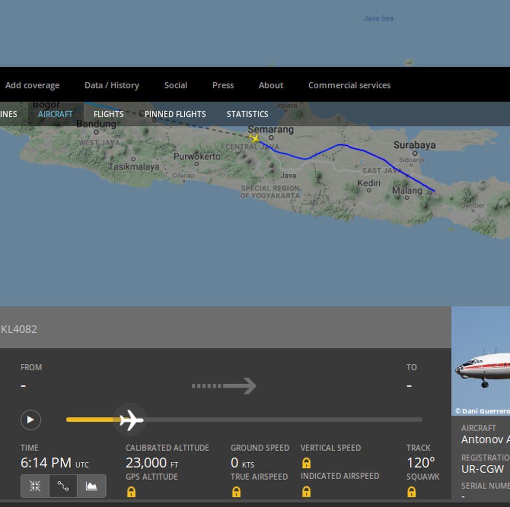 Pesawat Antonov Terdeteksi Lintasi Pantura, Sumber Suara Misterius?
