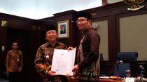 Wabup Herman Suherman Resmi Jadi Plt Bupati Cianjur