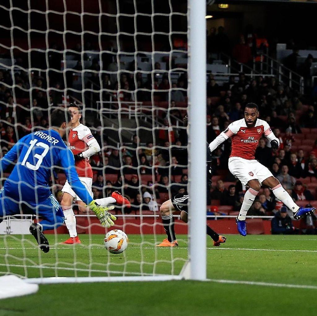 Hasil Liga Europa: Arsenal Tutup Fase Grup dengan Kemenangan