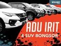 Uji Efisiensi Bahan Bakar 4 SUV Bongsor, Mana Paling Irit?