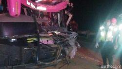 Bus Rombongan MTsN 1 Boyolali Kecelakaan di Tol Ngawi, 1 Tewas 9 Luka
