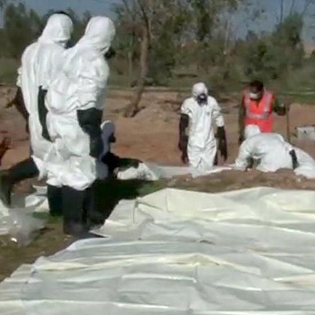 7 Kuburan Massal Ditemukan di Bekas Wilayah Kekuasaan ISIS di Suriah