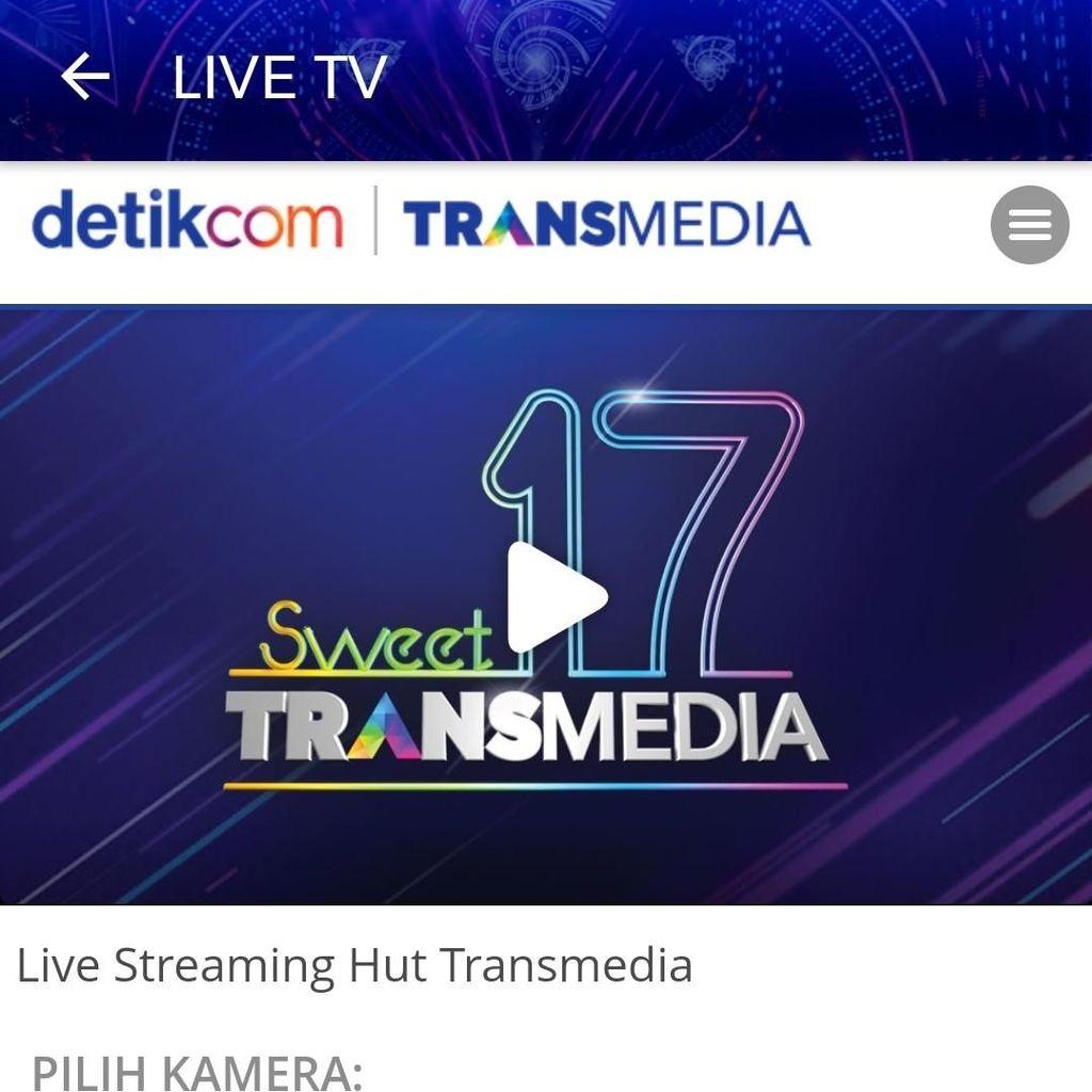 Nonton TV Bisa di Aplikasi detikcom!