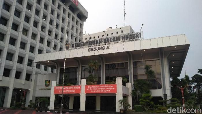 Gedung Kemendagri (Nur Azizah Rizki Astuti/detikcom)