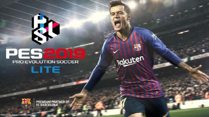 Konami merilis PES 2019 Lite, versi gratisan dari PES 2019 (Foto: Konami)