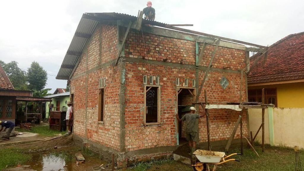 Hore! Yuk Lihat Penampakan Terbaru Bedah Rumah Reyot di Palembang