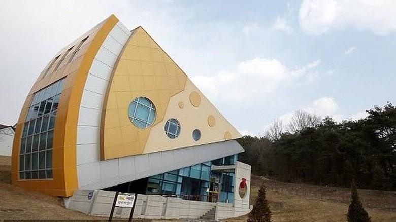 Foto: Taman rekreasi serba keju di Korea Selatan (cheesepark.kr)