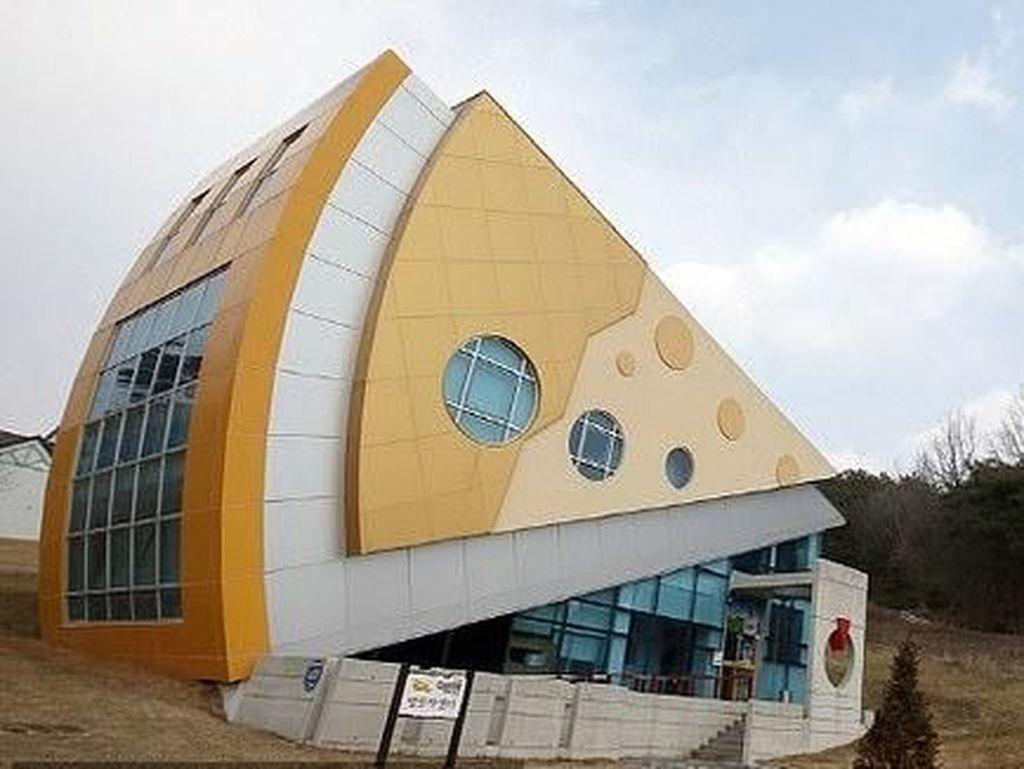 Foto: Taman Rekreasi Serba Keju di Korsel