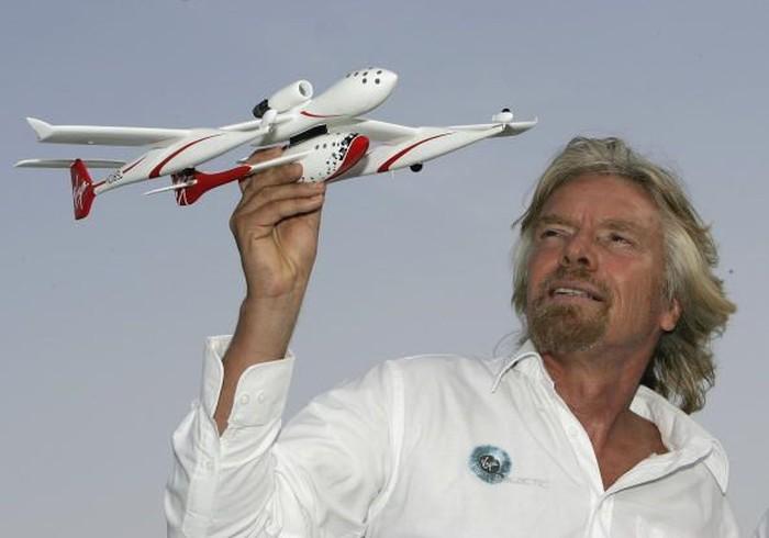 Richard Branson. Foto: Getty Images