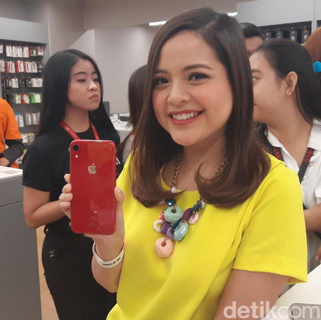 Wah, Tasya Kamila Ikut Antre Beli iPhone Baru