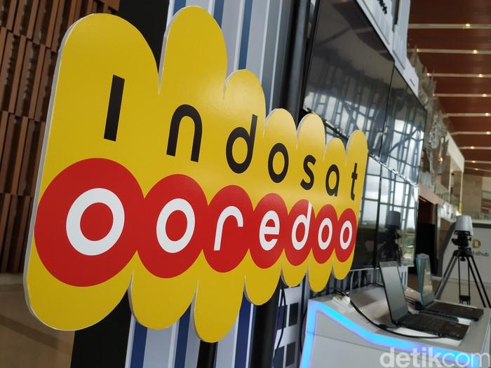 Logo Indosat Ooredoo. Foto: Agus Tri Haryanto/detikINET