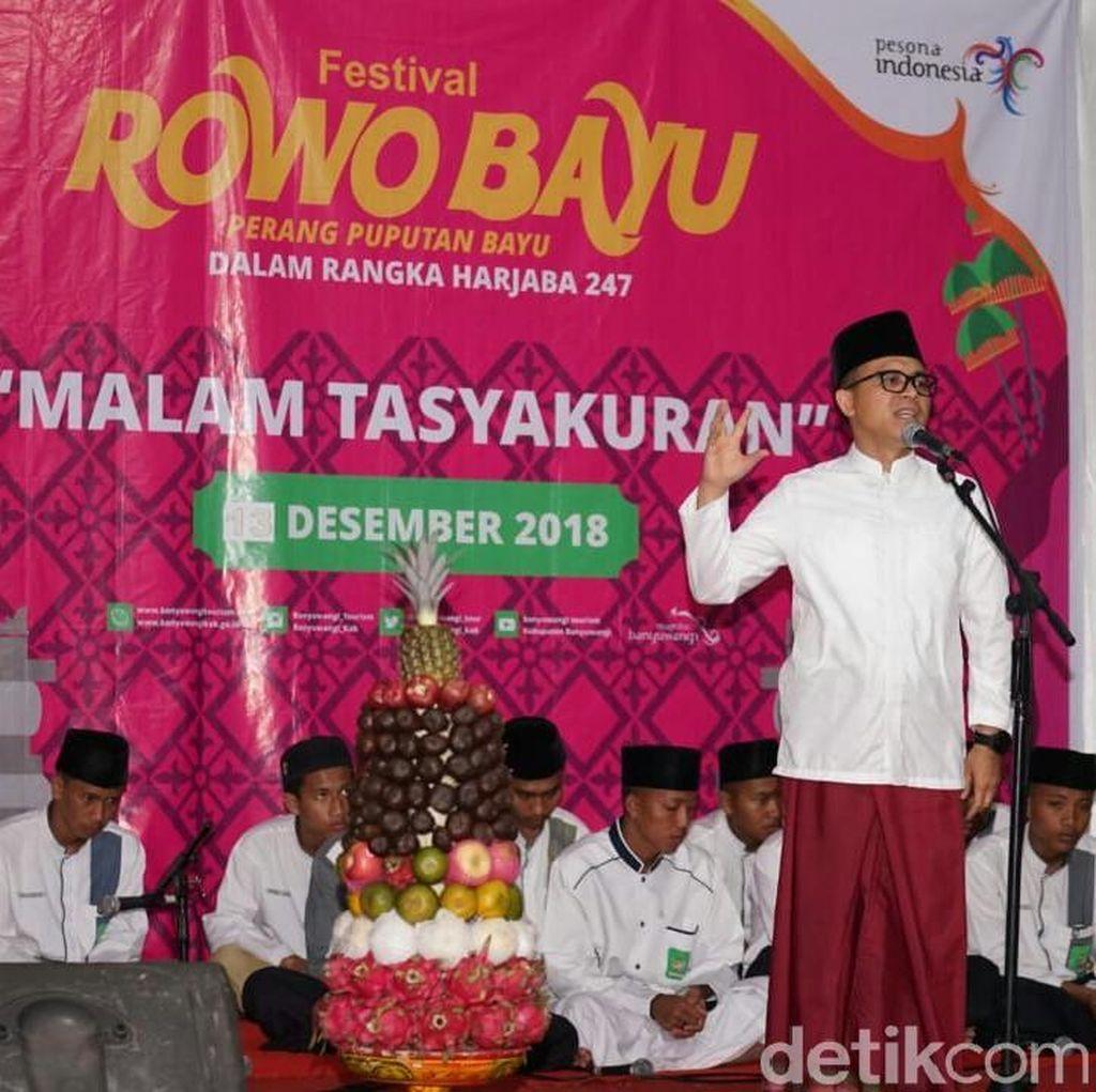 Bupati Anas Awali Rangkaian HUT Banyuwangi dengan Doa Bersama