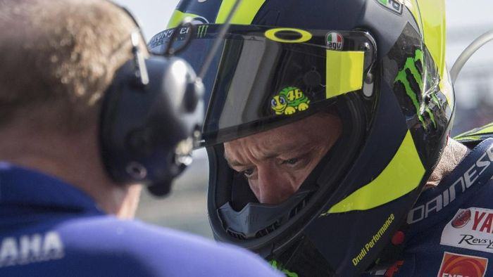 Pebalap Yamaha, Valentino Rossi, (Foto: Mirco Lazzari gp/Getty Images)