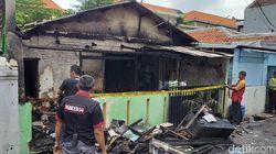Sebuah Rumah Ludes Dilalap Api, Satu Penghuni Luka Bakar
