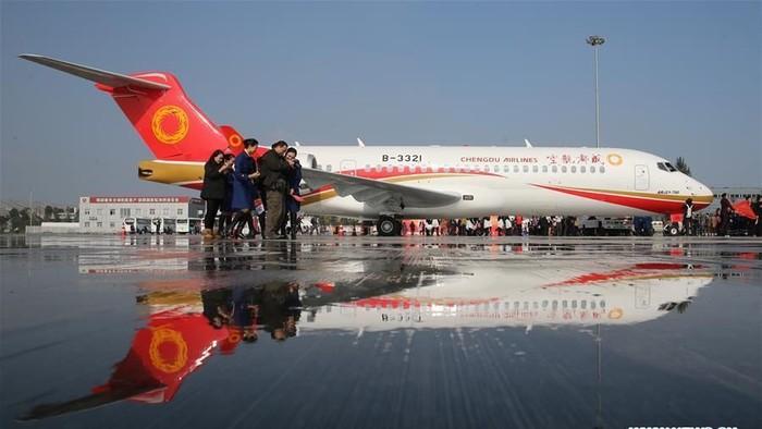 Industri Penerbangan China Menuju yang Terkuat di Dunia
