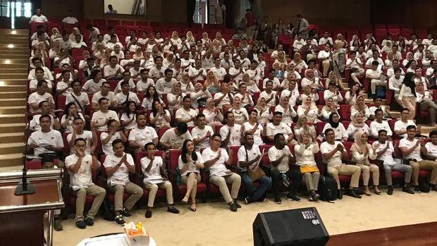 Gerakan Milenial Indonesia (GMI) di Hambalang