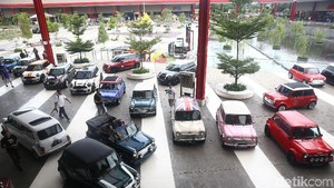 Pecinta Mini Cooper Kumpul di Mini Day 2018