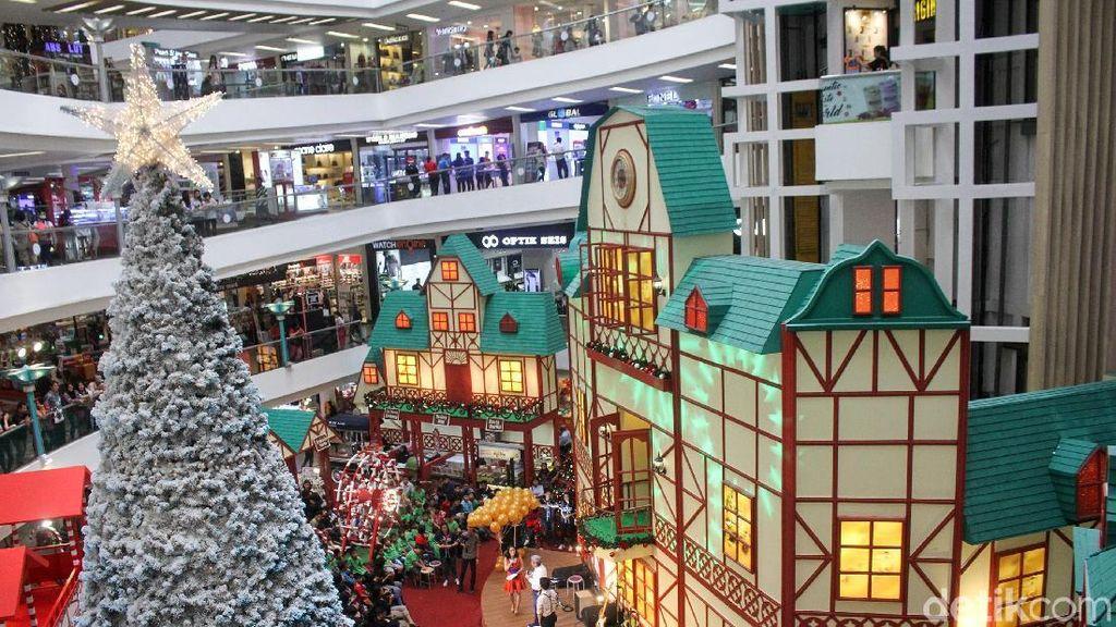 Dekorasi Natal Ala Bavarian Village Hadir di Pusat Perbelanjaan