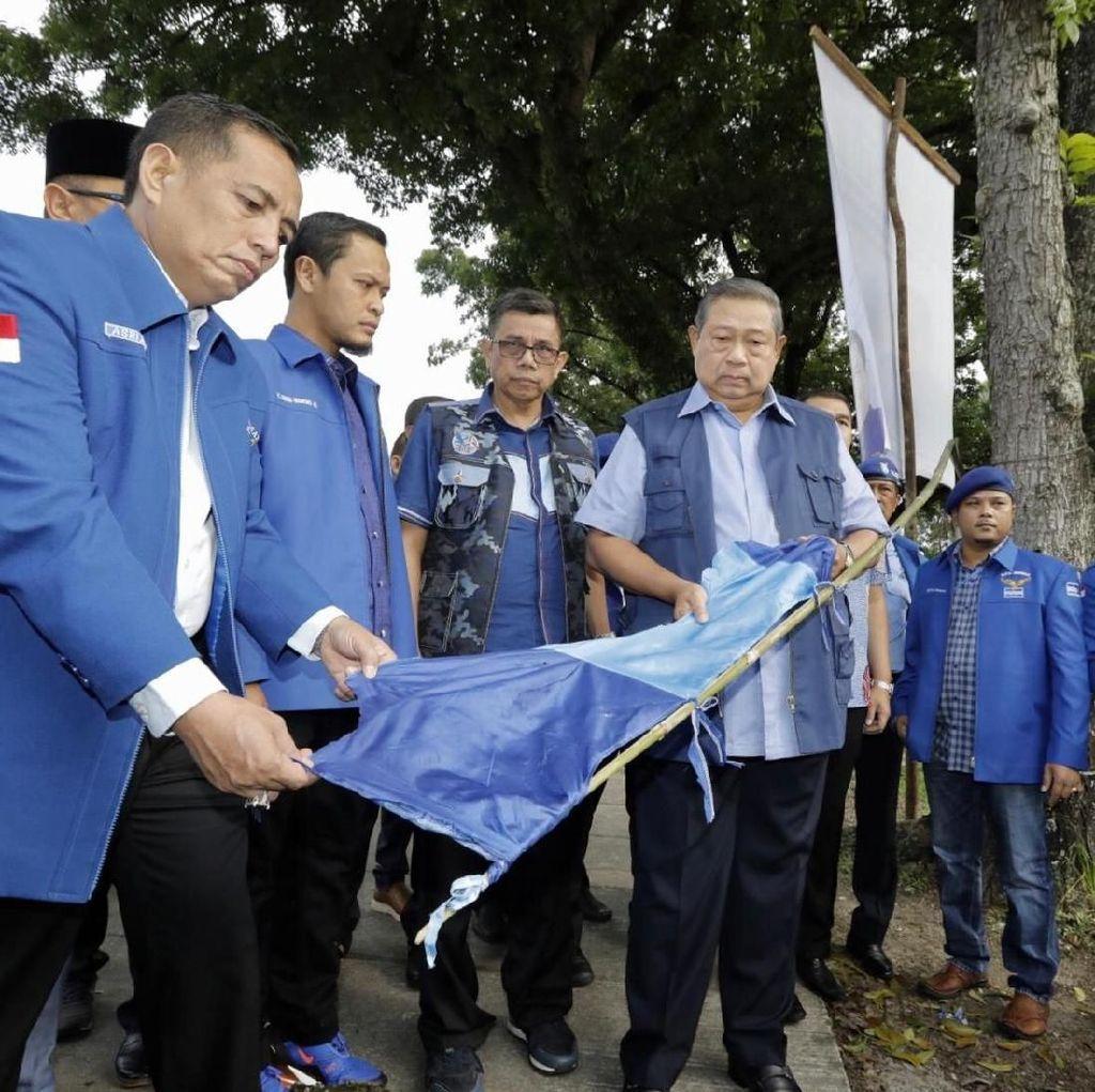 SBY: Saya Tak Ingin PDIP dan PD Dikorbankan di Kasus Baliho Rusak