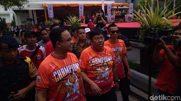 Gubernur DKI Jakarta Anies Baswedan di Balai Kota.