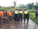 Hujan Deras Bikin Sawah Longsor dan Putus Saluran PDAM di Blitar