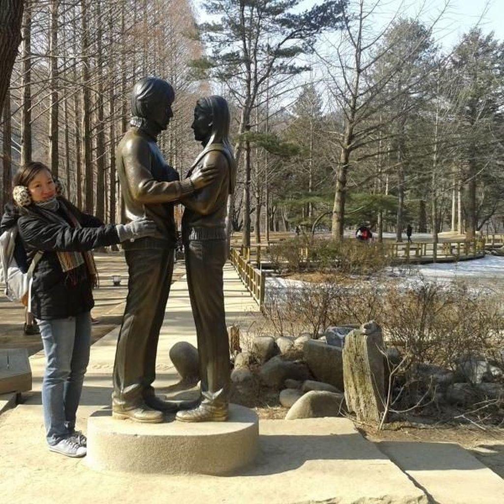 Pesona Romantis Korea Selatan di Nami Island