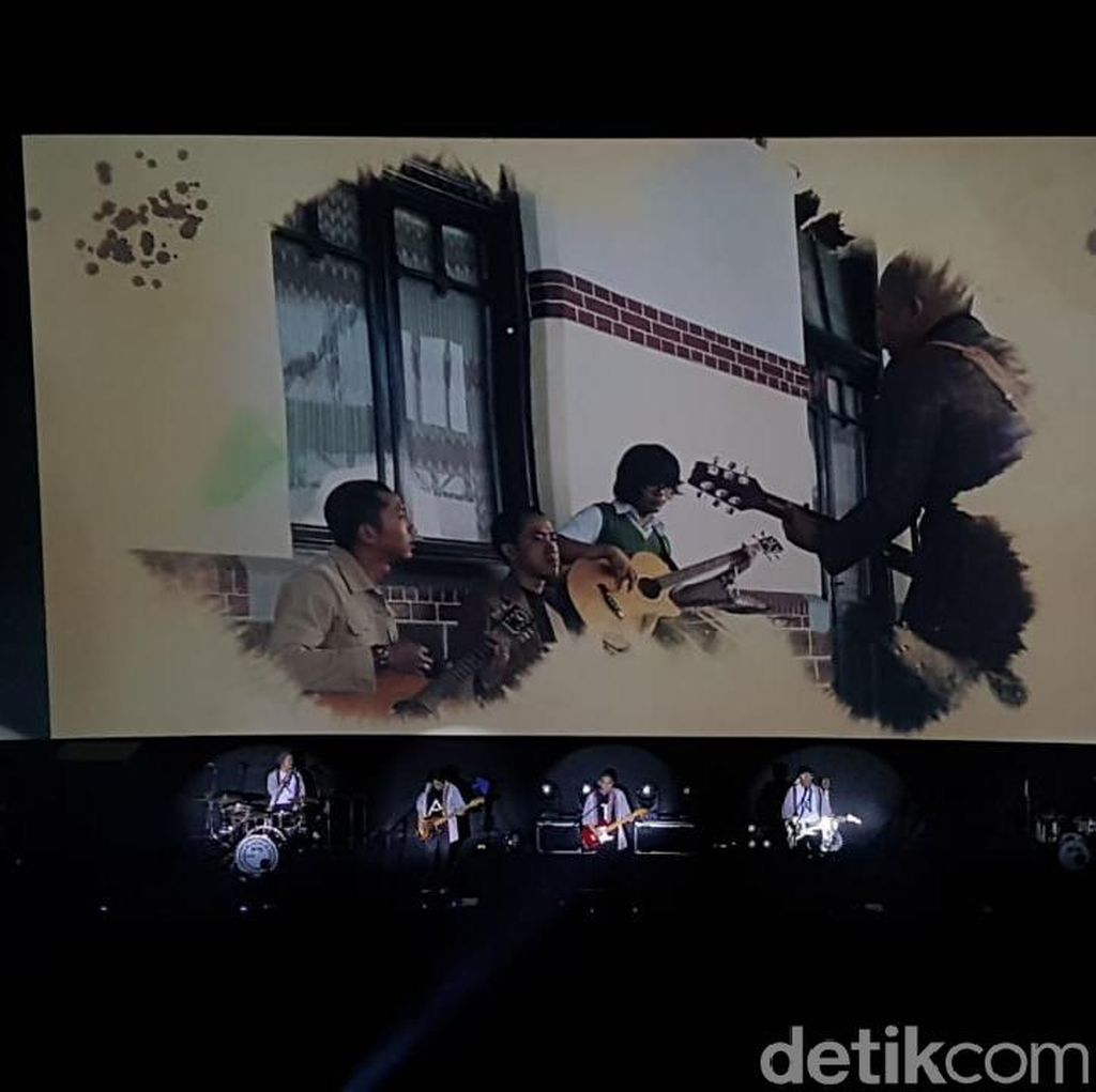 Rayakan 17 Tahun Berkarya, The Rain Sukses Gelar Konser di Bioskop