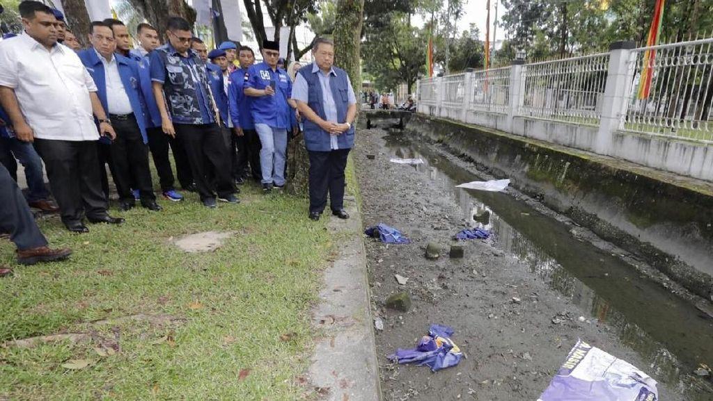 Fakta-fakta Perusakan Baliho di Pekanbaru yang Bikin SBY Sedih
