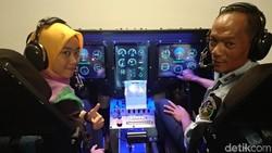Deg-degan! Merasakan Sendiri Ilusi Visual Saat Mendaratkan Pesawat